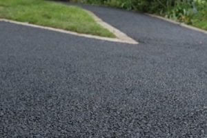 asphalt milling on road